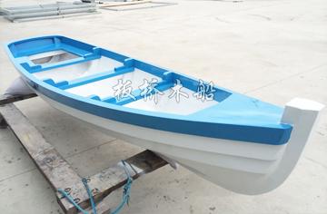3.6米欧式尖头木船