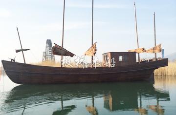 18米景观装饰木船