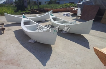 4.5米欧式尖头木船