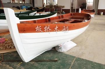 4.2米欧式尖头木船