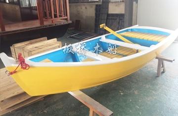3米欧式尖头木船