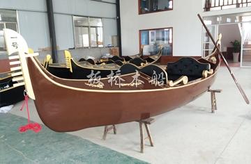 5米贡多拉木船