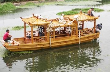 景区画舫船