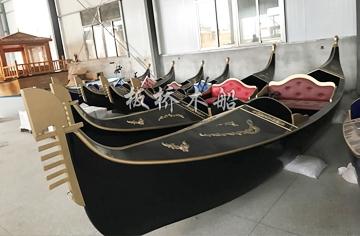 7米贡多拉木船