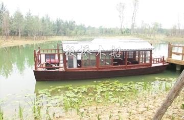 公园画舫船