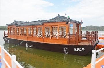 单层画舫木船价格厂家